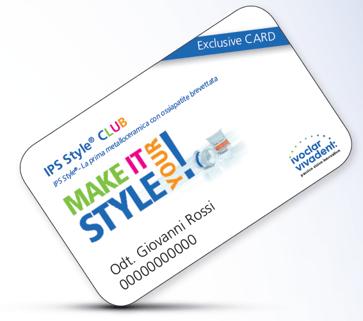 style club card