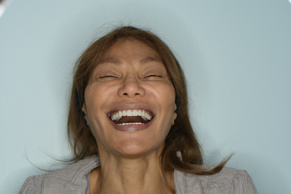 BRENDA LAUGHING