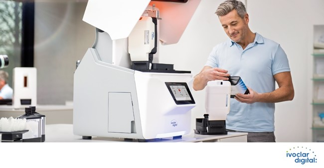Man with prograClean_printer