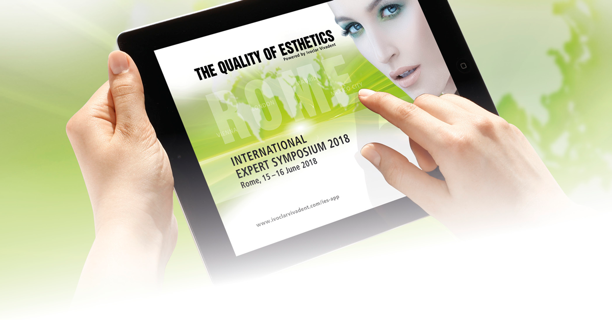 Register now: Expert Symposium on advanced digital and esthetic dentistry in Rome