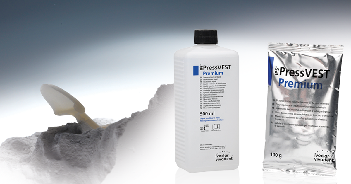 Popular post - Press ceramics: more efficiency with the universal investment material