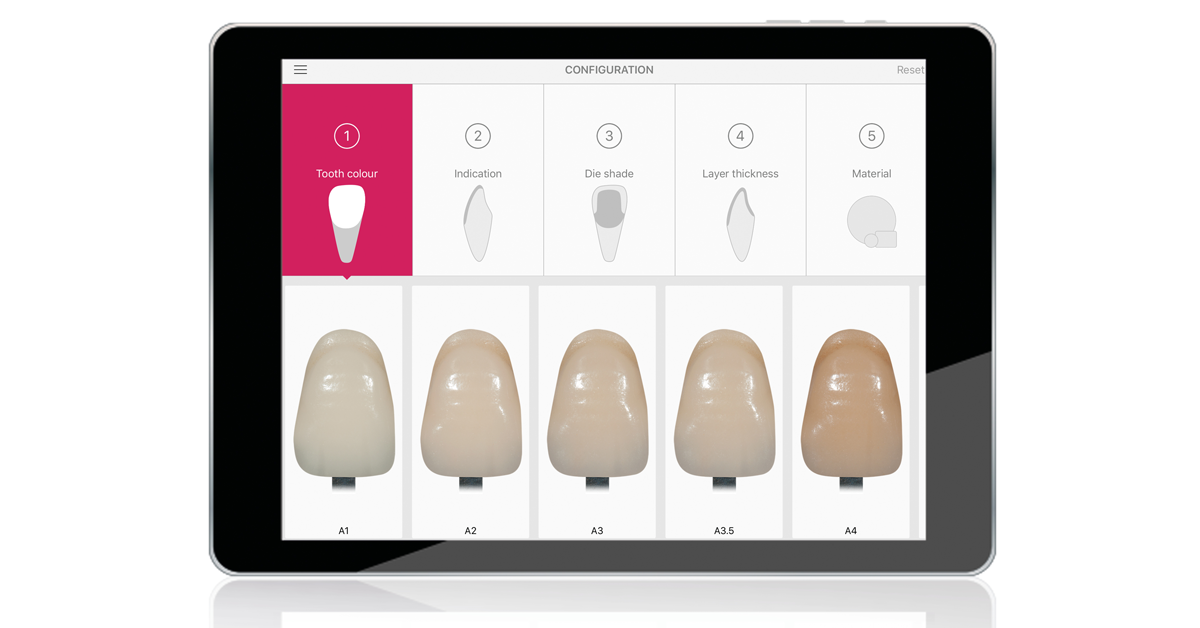 The new IPS e.max Shade Navigation App finds the correct shade and level of translucency for all IPS e.max restorations.