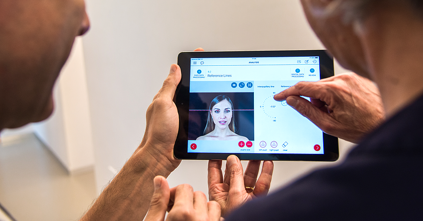 GETApp is an easy to use, intuitive tool. It guides dentists throughout the esthetic and functional treatment process and leads them step-by-step in all the phases of the prosthetic treatment plan.