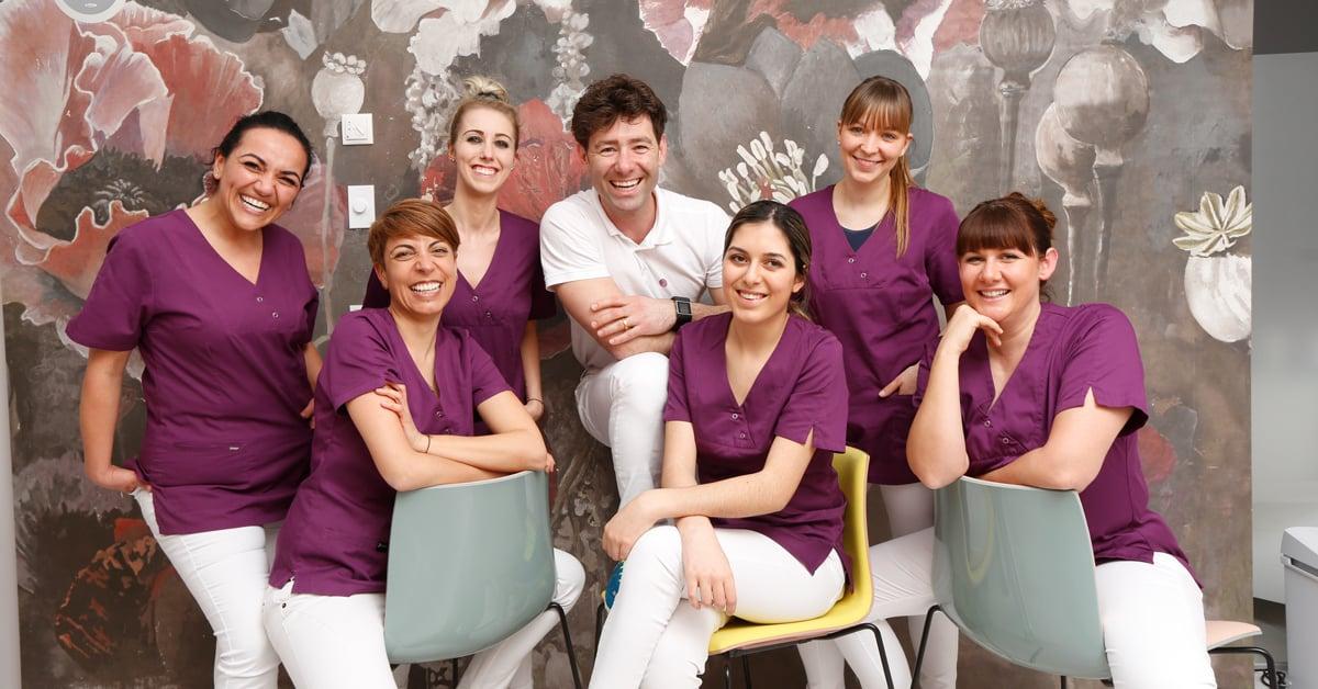 Team von Dr. med. dent. Martin von Sontagh, Hard/Österreich