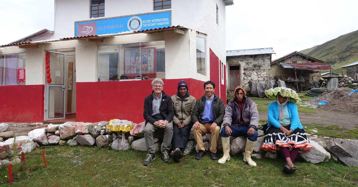 Le centre de santé de Marampaqui