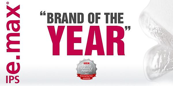 Featured image - IPS e.max wins Brand of the Year in the UK