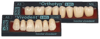 SR Vivodent S DCL, SR Orthotyp S DCL