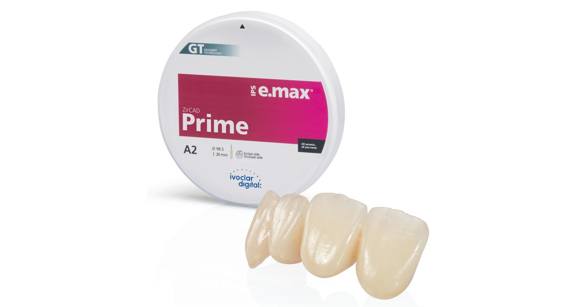 IPS e.max ZirCAD Prime – redefining all-ceramics