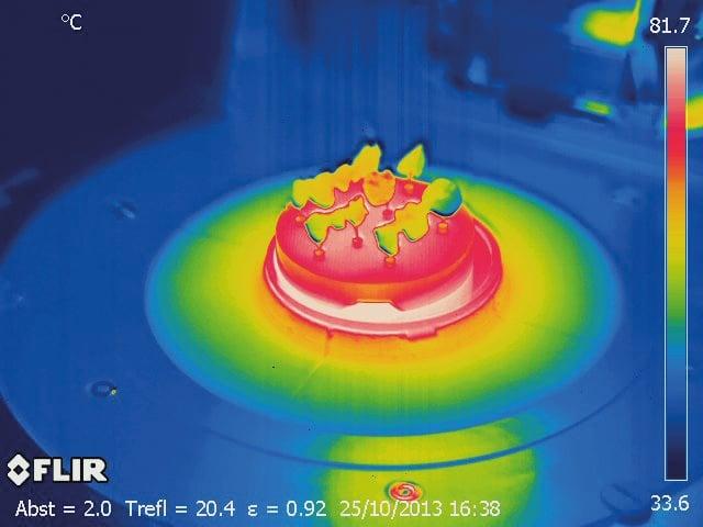 ¿Por qué hay hornos de cocción con cámaras de infrarrojos?