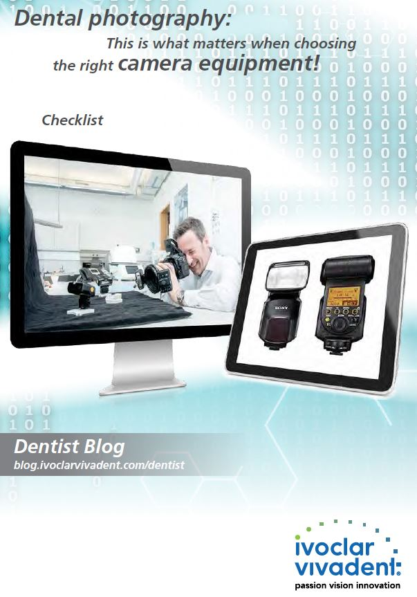Dental photography: the right camera equipment