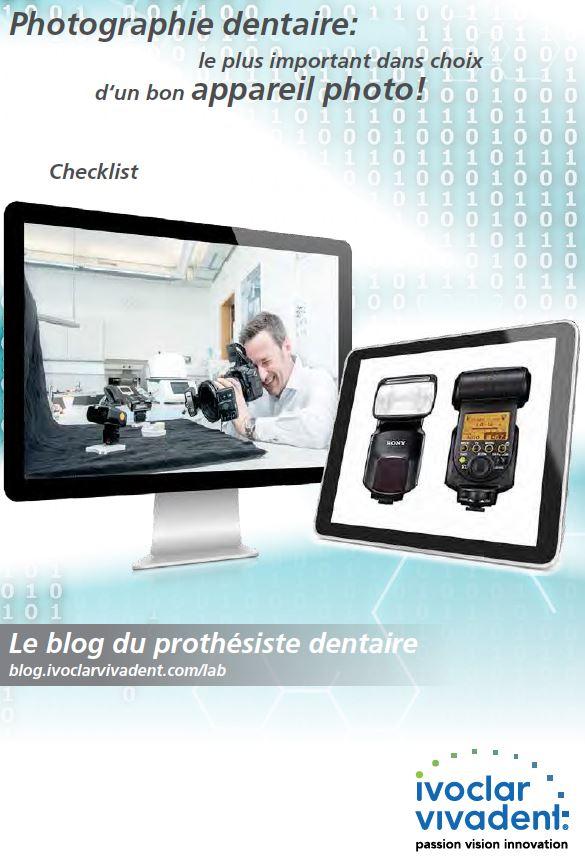 Checklist: Photographie dentaire
