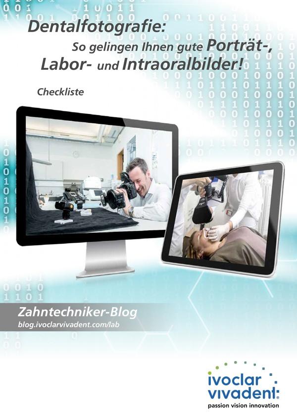 Dentalfotografie: Porträt-, Labor- und Intraoralbilder