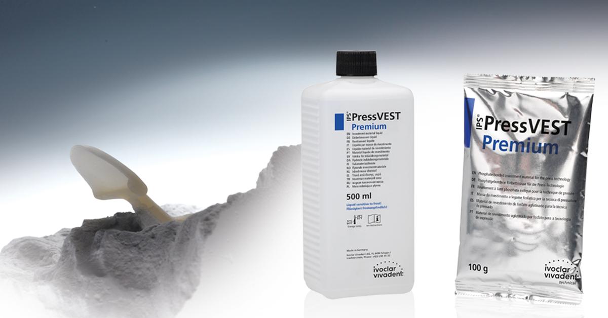 Ceramica per pressatura: più efficienza con la massa da rivestimento universale