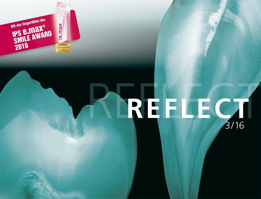 Neue Reflect-Ausgabe mit Siegerfällen des IPS e.max Smile Award