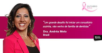 Entrevista com Dra. Andréa Melo - Meus sonhos profissionais estão pautados em fazer pessoas se encontrarem