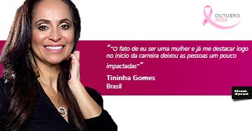 Entrevista com Tininha Gomes: Um sonho de infância que virou realidade.