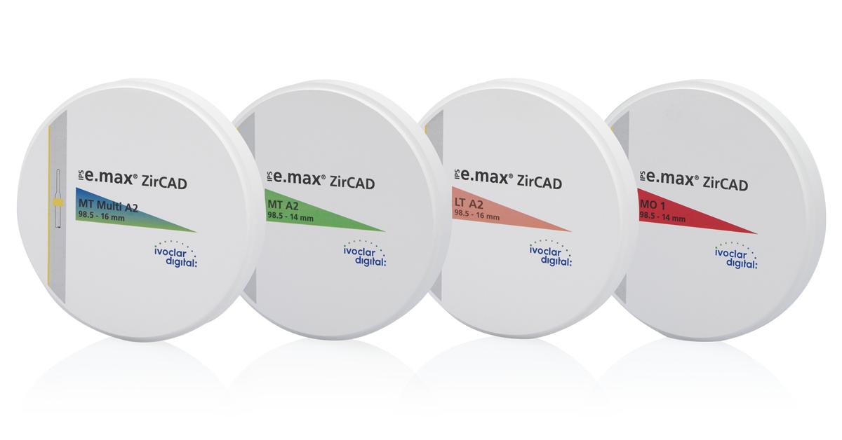 IPS e.max ZirCAD - noch mehr Auswahl